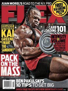 Flex Magazine May 2012 featuring Kai Greene #fitness #bodybuilding #exercise