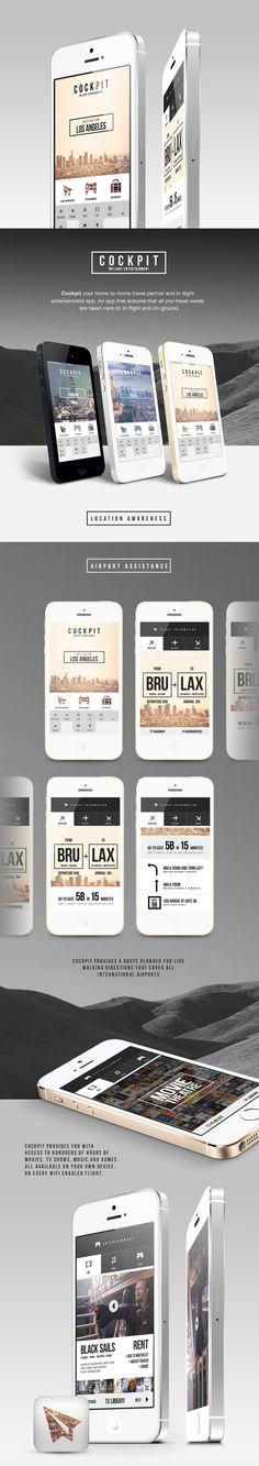 COCKPIT via #Behance #ui #app #design