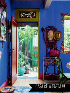 Coisa Di Casa: Uma casa colorida cheia de estampas
