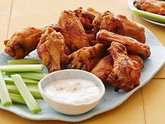 Buffalo-Style Chicken Wings Recipe : Food Network Kitchen : Food Network - FoodNetwork.com