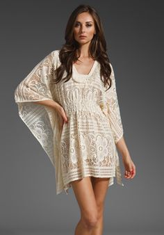 Beautiful to throw over your swimsuit or wear during the day with guests