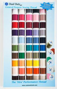 Win a Dual Duty S9000 Assorted Color 50/Pack from Coats & Clark! Hurry! You only have until 9/9 to enter!