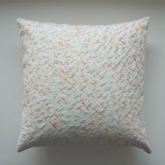 Now available from my shop - Screenprinted cushion - Fun Stone