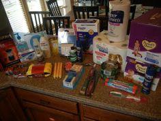 Non-food preparedness items