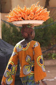 Off to market - Mali