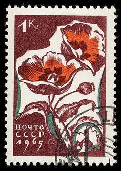 stamp cccp 1965 3046 by pixelschubser.de, via Flickr