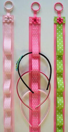 diy headband, little girls, craft, hair clips, bow holders, flower clips, hair bows, hair accessories, headband holders