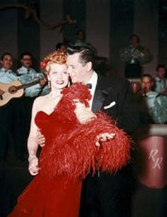 Lucy and Desi Arnaz