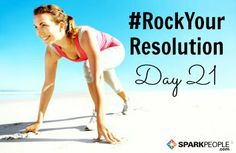 Who's ready to tackle Day 21 of #RockYourResolution? Your mission today, if you choose to accept it, is to try a Tabata interval! You can pick any cardio exercise of your choice for this interval. Go hard for 20 seconds, followed by a 10-second rest. Repeat the cycle 8 times for a total of 4 minutes! To learn more about Tabata intervals, check out this article: http://www.sparkpeople.com/resource/fitness_articles.asp?id=1720 | via @SparkPeople #fitness #newyear #resolutions #challenge #goals
