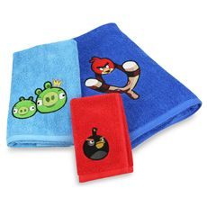 Angry Birds™ Bath Towels, 100% Cotton - Bed Bath & Beyond