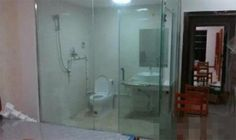 Transparent Bathrooms All The Rage At Chinese College  ... see more at InventorSpot.com