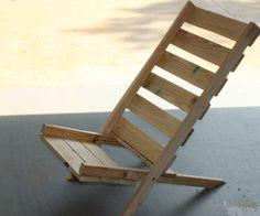 Folding Pallet Chair