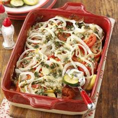 Greek Herb Ratatouille