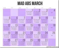 Mad Abs March!!!