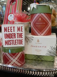Beyond the Door has gifts for everyone on your list. From Frasier Fir candles to box signs and more!