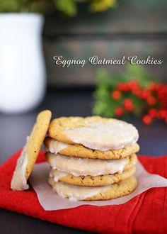 Eggnog Oatmeal Cooki