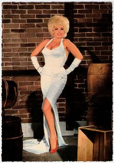 "If you looked up ""Buxom"" in the dictionary, there would be this photo of Jayne Mansfield.  Yowza."