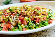 Chicken Taco Salad by The Pioneer Woman