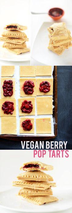 Vegan Berry Pop Tarts!  minimalistbaker.com