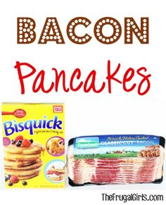 Bacon Pancakes Recipe! ~ from TheFrugalGirls.com - bacon makes everything better... even a pancake! Give your ordinary ol' breakfast or brunch a delicious makeover! #recipes #thefrugalgirls