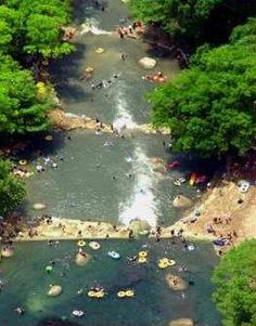 Tubing the San Marcos River near San Antonio TX   There are also several other rivers in TX that are great for tubing. The Guadalupe and the Medina and the Gruene.