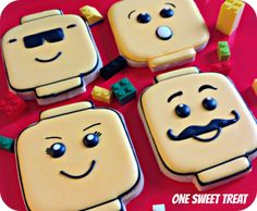 Lego sugar cookies.