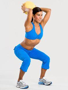 Abs exercises w medicine ball :)