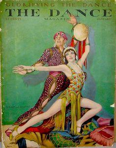 Vintage Dance Magazine Cover
