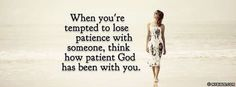 How Patient God Has Been With You - Facebook Cover Photo