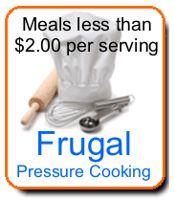 Frugal Pressure Cooking