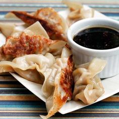 These potstickers are full of ground turkey, cabbage, and mushrooms.