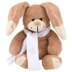 Printed Plush Rabbits are a soft cuddly toy certain to draw attention to your brand. From £2.31.