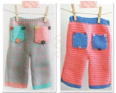 Pure Wool Knitted Baby Pants