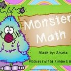 This is a cute monster math theme pack  There are number cards from 0-30 and 3 recording sheets that your students can use in addition to the numbe...