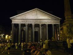Pantheon. Rome, Italy -   Flickr: EmmyDawn