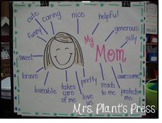 plant, mother's day kindergarten, mothers day kindergarten, mothers day ideas, father day, anchor charts, flip charts, kindergarten mothers day, mothers day cards
