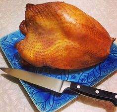 Brined and Smoked Turkey Breast from This Mama Cooks! On a Diet - thismamacooks.com