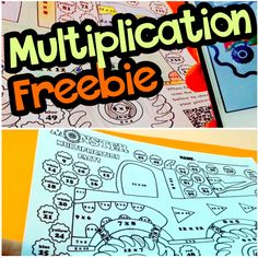 FREE Self-Checking Multiplication Facts Worksheet when you subscribe to the FlapJack YouTube channel. :)