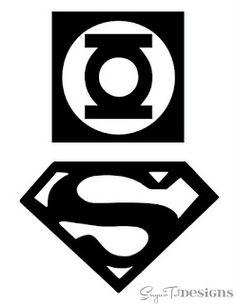 Superhero logo designs