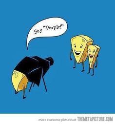 So cheesy…