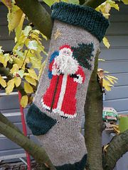 Ravelry: Father Christmas Stocking pattern by Jo Anne Nikodem