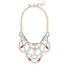 Crystal lace necklace - jcrew