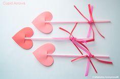 Valentine's Day Craft for Kids: Cupid's Arrow
