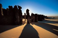 Tassili, Sahara Argelia