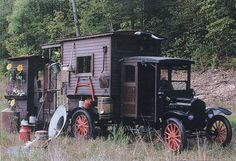 Old timer mobile camper