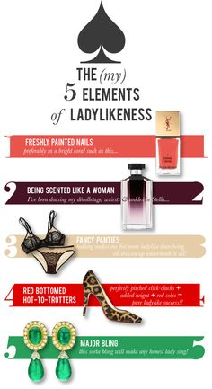 The 5 Elements of Ladylikeness