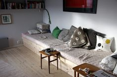 inspiration for homemade sectional