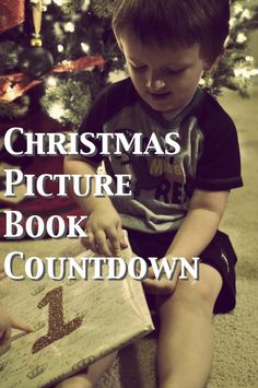 Christmas Picture Book Countdown: Over 25 Christ-centered Christmas picture books to share with your children this holiday season!