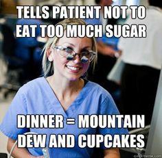overworked dental student....Hahahahahahahahahaha sooo true