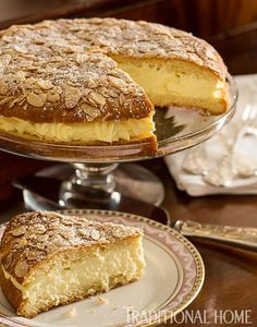 Tarte Tropézienne looks simply divine. This special cream cake was invented by a local baker in St. Tropez ... dinner, cake, dessert